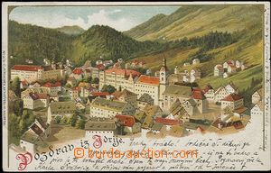 57232 - 1899 Idrija - one-view lithography; long address, Us, preser
