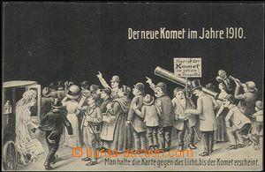 57253 - 1910 průlet Halleyovy komety, zástup lidiček, Kdo podrž�