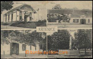 57265 - 1920 Trstěnice (Křtěnice) - 4okénková, sokolovna, pomn�