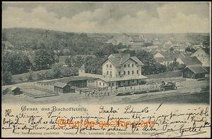 57298 - 1900 Horšovský Týn (deutsch Bischofteinitz) - railway-sta