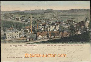 57316 - 1904 Boguszów (Gottesberg) - brewery; long address, Us, ver