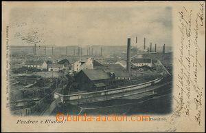 57325 - 1899 Kladno - Důl Thienfeld; DA, prošlá, dobrý stav