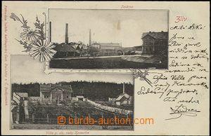 57329 - 1901 Zliv - 2okénková, továrna, Kocourkova villa; DA, pro