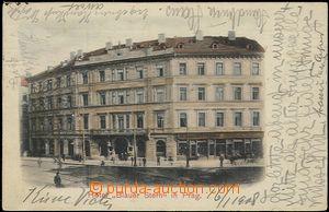 57336 - 1908 Praha - hotel Modrá hvězda (Blauer Stern); DA, prošl
