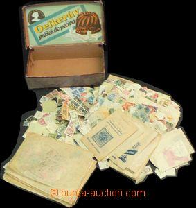 57365 - 1900-30 EUROPE  obchodní zásoba smytých ražených zn. vo