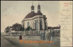 57410 - 1904 Praha - Karlov, koláž s postavami; DA, prošlá, dobr