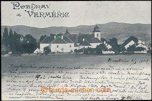 57421 - 1902 Hřiměždice (Verměřice) - celkový pohled; DA, pro�