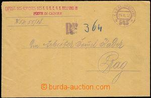 57461 - 1918 R dopis z Itálie do Prahy, DR FPA č.545a/ 14.III.18,
