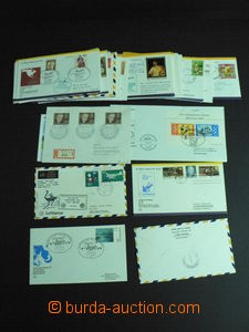 57485 - 1961-92 AEROPHILATELY  selection 50 pcs of letters from arou