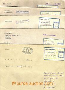 57550 - 1994 comp. 5 pcs of money letters with labels T I. - Havíř