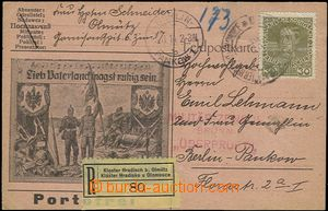 57625 - 1914 FP card with picture additional-printing sent vyplacen�
