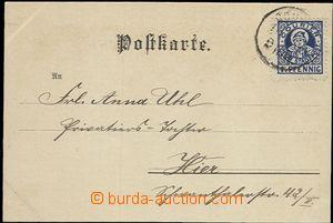 57652 - 1901? MÜNCHEN  pohlednice vyfr. modrou známkou 1½Pf s