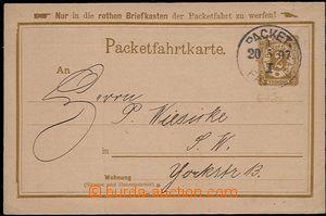 57675 - 1897 BERLIN  dopisnice soukromé pošty v Berlíně Packetfa