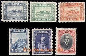 57701 - 1929 Mi.885-90 výplatní zn., kompletní série, luxusní, kat.