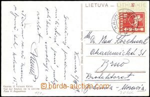 57704 - 1939 postcard with Mi.415, CDS Kaunas 6.VII.39, addressed to
