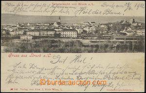 57712 - 1902 Bruck an der Leitha - general view over railway-station