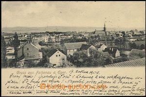 57753 - 1904 Sokolov (Falkenau) - general view; long address, Us, wr