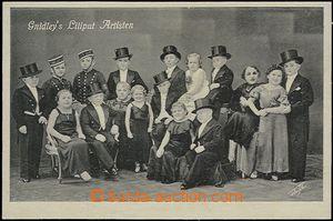 57773 - 1930 Gnidley's Liliput Artisten, group liliputů; Un, good c