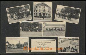 57782 - 1911 HEJČÍN (Hatschein) - 7-okénková, vojáci na koních