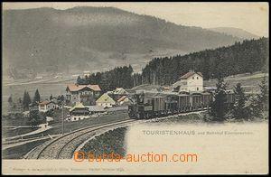 57786 - 1903 Lenora (Eleonorenhain) - train vyjíždějící from st
