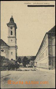 57804 - 1918 Josefov - dělostřelecké kasárny; prošlá, útvarov
