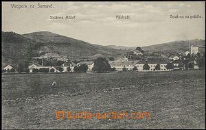 57806 - 1910 Vimperk - factory for linen, general view; Un, good con