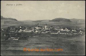 57808 - 1910 Budětice - general view; Us, very wrinkled corners