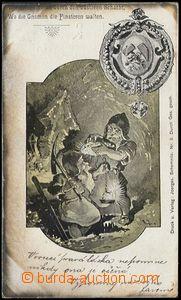 57829 - 1899 HORNICTVÍ  hornický pozdrav se skřítky; DA, neproš