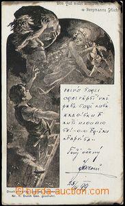 57831 - 1899 HORNICTVÍ  horník a víly v šachtě; DA, neprošlá,