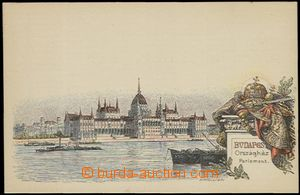 57838 - 1896 lithographic postcard with pre-printed stmp 2 Kreuzer i