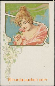 57892 - 1905 Art Nouveau lithography; Un, good condition