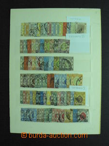 57898 - 1863-17? HONG KONG, selection 85 pcs of stamps, some also mo