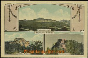 57932 - 1910 Velké Hamry  - 3-views collage, area of Muchova, Mucho