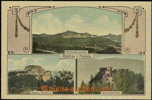 57932 - 1910 Velké Hamry - 3okénková koláž, partie z Muchova, M