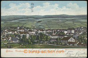 57935 - 1905 Česká Třebová (Böhm. Trübau) - general view; long addre