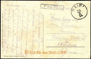 57972 - 1914 postcard without franking, hand-made Feldpost (Field-Po
