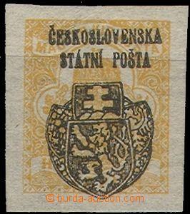 57986 - 1918 Pof.RV132 Skalice overprint on/for newspaper stamp., ve