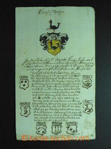 57993 - 1758 unique letter sent from Wien (Vienna) to Klagenfurt, co