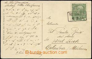 58007 - 1913 franked postcard with cancellation postal agency pmk NE