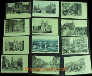 58013 - 1900-08 FRANCE, NETHERLANDS, BELGIUM, DENMARK  smaller comp.