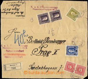 58040 - 1917 K.u.K.. Fliegerersatztruppe/ Fliegerkompagnie No. 11, t