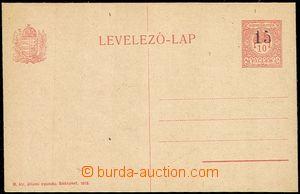 58077 - 1919 CRV22, Kremnícké provisional, Hungarian PC 10fi CPŘ3