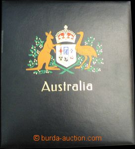 58086 - 1913-50 AUSTRALIA  incomplete collection on hingeless sheets