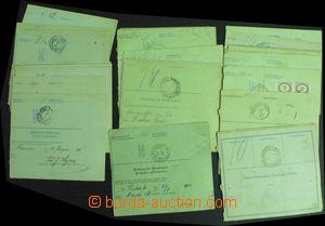 58087 - 1902-17 AUSTRIA  selection of 40 pcs of whole dispatch notes