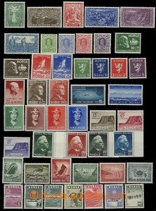 58096 - 1939-49? selection of 60 pcs of stamps, several pieces with