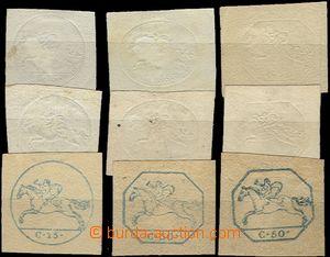 58107 - 1819-20 comp. 9 pcs of so-called. Sardinských koníčků, c