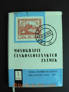 58110 - 1968 Monograph of Czechosl. stamps, 1. part, Period post rev