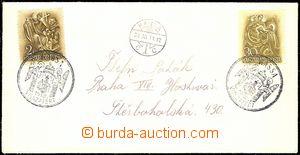 58163 - 1938 dopis ze zabraných Košic do Prahy, správná frankatu