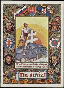 58185 - 1939 propagační pohlednice Slovenského štátu; VF, proš