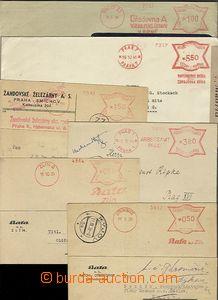 58261 - 1939-44 sestava 6ks dopisů s OVS motýlek, Otrokovice - Ba�